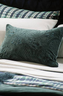 Bianca Lorenne Ereganto Green Cushion