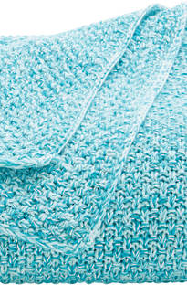 Sheridan Essery Deep Turquoise Throw & Cushion