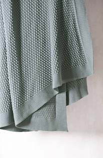 Bianca Lorenne Filato Mist Knitted Throw