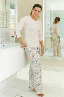 Baksana - Flora Casual Knit PJ Set