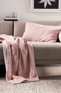 Sheridan Fortide Dusty Rose Throw & Cushions