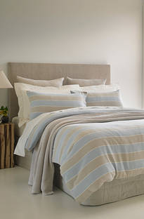 Baksana Florida Stripe Duvet Cover Set