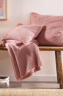 Sheridan Haden Dusty Rose Throw & Cushions