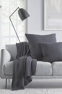 Sheridan Haden Midnight Throw & Cushions