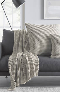 Sheridan Haden Peat Throw & Cushions