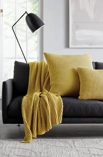 Sheridan Haden Tumeric Throw & Cushions
