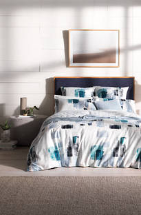 Sheridan Hallows Chambray Duvet Cover Set
