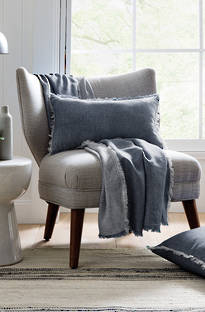 Sheridan Indigos Denim Throw & Cushions
