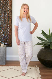 Baksana - Isabelle Casual PJ Set with Pants