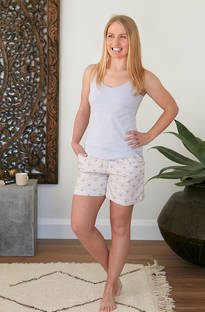 Baksana - Isabelle Casual PJ Set with Shorts