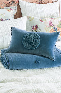 Bianca Lorenne - Kalliope Regal Blue Euros and Cushions