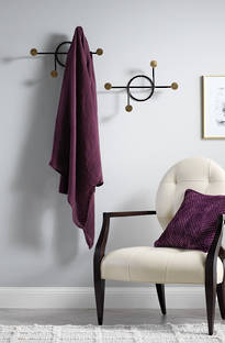 Sheridan - Kemerton Plum Linen Throw