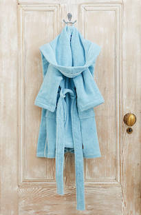 Baksana - Kids Robe Blue