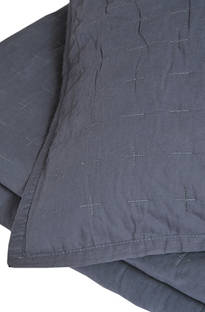 MM Linen - Luca Charcoal Comforter Set