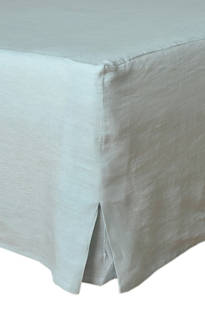 MM Linen Duckegg Laundered Linen Valance