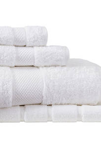 Sheridan Luxury Egyptian Cotton Towel Snow
