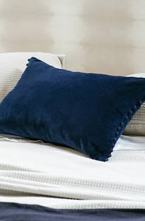 Bianca Lorenne Mateo Blueberry Cushion