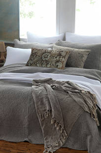 MM Linen Melia Dove Bedspread Set