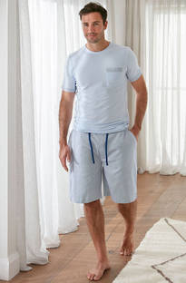 Baksana - Miami Casual PJ Set with Shorts