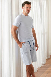 Baksana - Monaco Casual PJ Set with Shorts
