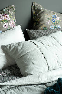 Bianca Lorenne Noma Eggshell Bedspread / Pillowcases - Sold Separately