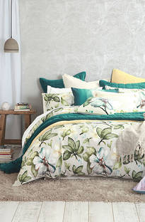 MM Linen Flora Duvet Cover Set