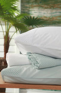 MM Linen Lucia Seafoam Sheet Set/Pillowcases Sold Separately