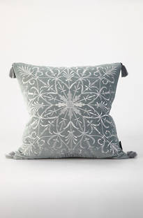 MM Linen - Constantine Embroidered Velvet Cushions