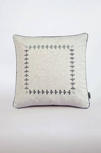 MM Linen - Bee Embroidered Cushions