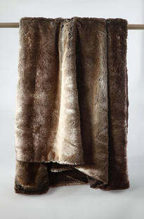 MM Linen - Snug Faux Fur Throw