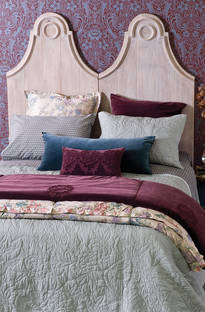 Bianca Lorenne Pavone Bedspread / Pillowcases - Sold Separately