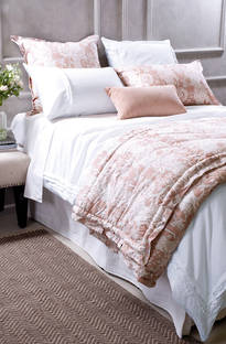 Bianca Lorenne Rafelle Natural Linen Duvet Cover / Pillowcases Sold Separately