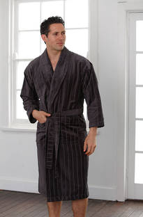 Baksana -  Men's Relaxation Robe Gunmetal
