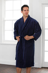Baksana -  Men's Relaxation Robe Navy