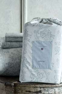 Bianca Lorenne Sabine Pale Blue Printed Sheet Set