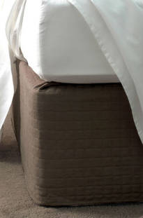 Savona Chocolate Quilted Bedwrap