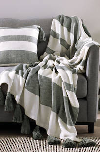 Sheridan Townsend Eucalyptus Throw & Cushion