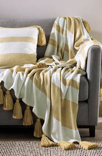 Sheridan Townsend Pale Amber Throw