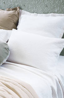 Bianca Lorenne Valentina White Bedspread / Pillowcases Sold Separately