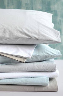MM Linen Washed Cotton Grey Sheet Set