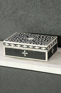 Bianca Lorenne Bone Inlay Decorative Boxes