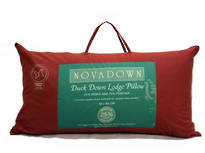 Novadown 25/75 White Duck Down Lodge Pillow