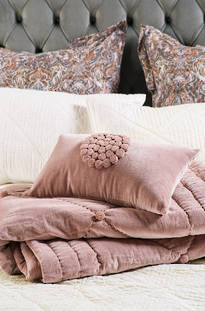 Bianca Lorenne - Petipa Lavender Quartz Comforter / Eurocases and Cushion Sold Separately