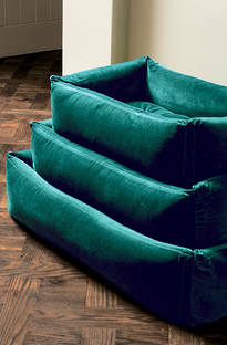 Bianca Lorenne Pet Bed Teal