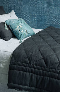 Bianca Lorenne - Tessere Midnight Comforter and Cushion